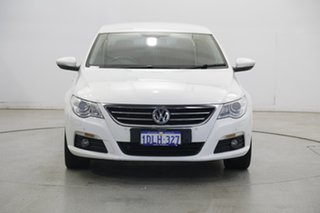 2010 Volkswagen Passat Type 3CC MY10 125TDI DSG CC White 6 Speed Sports Automatic Dual Clutch Coupe.