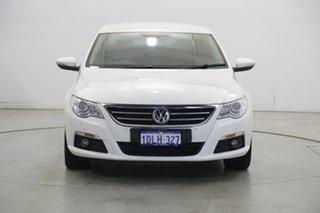 2010 Volkswagen Passat Type 3CC MY10 125TDI DSG CC White 6 Speed Sports Automatic Dual Clutch Coupe.