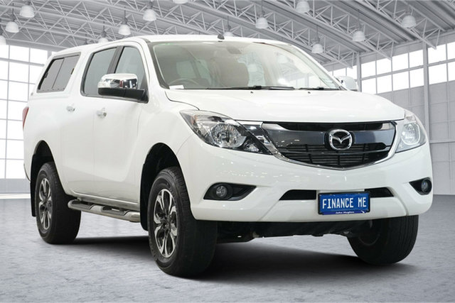 Used Mazda BT-50 UR0YG1 GT Victoria Park, 2018 Mazda BT-50 UR0YG1 GT White 6 Speed Sports Automatic Utility