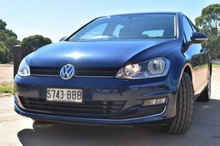 2013 Volkswagen Golf VII 110TDI DSG Highline Blue 6 Speed Sports Automatic Dual Clutch Hatchback