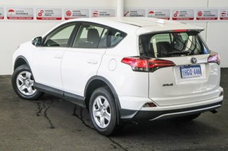 2017 Toyota RAV4 ZSA42R MY18 GX (2WD) Glacier White Continuous Variable Wagon.