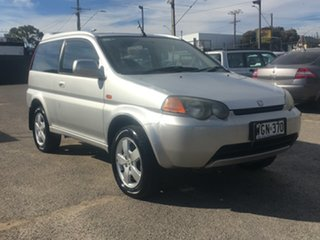 1999 Honda HR-V Sport 4WD Silver 5 Speed Manual Wagon.