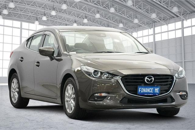 Used Mazda 3 BN5278 Maxx SKYACTIV-Drive Victoria Park, 2017 Mazda 3 BN5278 Maxx SKYACTIV-Drive Titanium Flash 6 Speed Sports Automatic Sedan