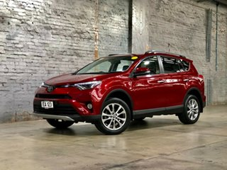 2017 Toyota RAV4 ASA44R Cruiser AWD Red 6 Speed Sports Automatic Wagon.