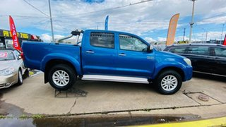 2014 Toyota Hilux KUN26R MY14 SR5 Double Cab Blue 5 Speed Automatic Utility.