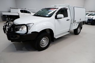 2016 Isuzu D-MAX MY15 SX Crew Cab White 5 Speed Sports Automatic Cab Chassis.