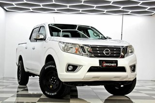 2017 Nissan Navara D23 Series II RX (4x4) White 7 Speed Automatic Double Cab Utility.