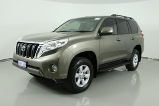2013 Toyota Landcruiser Prado KDJ150R 11 Upgrade GXL (4x4) Bronze 5 Speed Sequential Auto Wagon.
