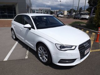 2014 Audi A3 8V Attraction Sportback S Tronic 7 Speed Sports Automatic Dual Clutch Hatchback.