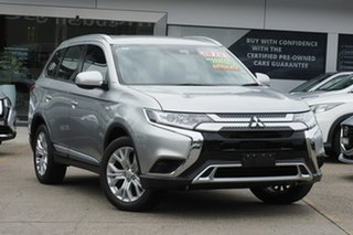 2020 Mitsubishi Outlander ZL MY20 LS 2WD Silver 6 Speed Constant Variable Wagon.