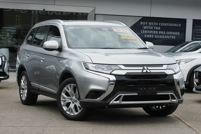 Used Mitsubishi Outlander ZL MY20 LS 2WD Homebush, 2020 Mitsubishi Outlander ZL MY20 LS 2WD Silver 6 Speed Constant Variable Wagon