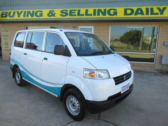 Used Suzuki APV Mandurah, 2016 Suzuki APV - White 5 Speed Manual Van
