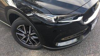 2021 Mazda CX-5 KF4WLA GT SKYACTIV-Drive i-ACTIV AWD Jet Black 6 Speed Sports Automatic Wagon.