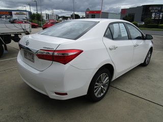 2013 Toyota Corolla ZRE172R SX S-CVT White 7 Speed Constant Variable Sedan