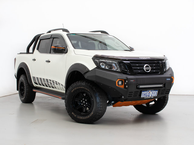 Used Nissan Navara D23 Series 4 MY19 N-Trek Special Edition (4x4), 2019 Nissan Navara D23 Series 4 MY19 N-Trek Special Edition (4x4) White 7 Speed Automatic
