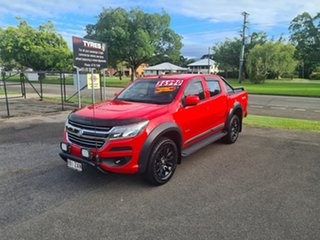 2016 Holden Colorado RG LS Absolute Red 6 Speed Automatic Crewcab.