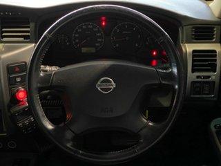 2005 Nissan Patrol GU IV MY05 ST Brown 4 Speed Automatic Wagon