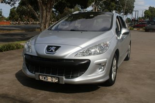 2010 Peugeot 308 Touring XSE HDi 2.0 Silver 6 Speed Automatic Wagon