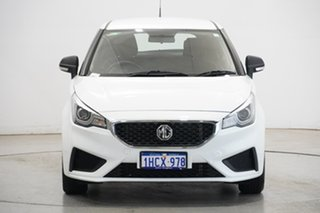 2020 MG MG3 SZP1 MY20 Core Dover White 4 Speed Automatic Hatchback.