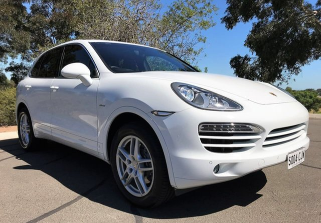 Used Porsche Cayenne 92A MY12 Diesel Tiptronic Enfield, 2012 Porsche Cayenne 92A MY12 Diesel Tiptronic White 8 Speed Sports Automatic Wagon