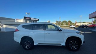 2016 Mitsubishi Pajero Sport QE MY16 GLX White Solid 8 Speed Sports Automatic Wagon.