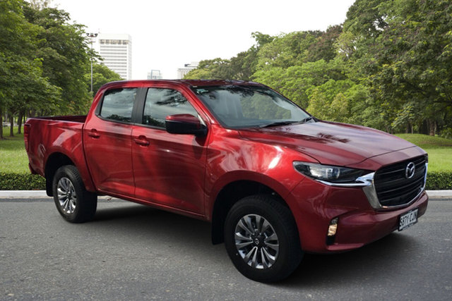 Demo Mazda BT-50 TFS40J XT Paradise, 2020 Mazda BT-50 TFS40J XT Red Volcano 6 Speed Sports Automatic Utility
