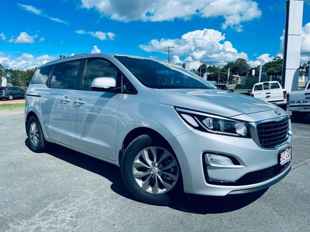 Used Kia Carnival YP MY19 SI Gympie, 2019 Kia Carnival YP MY19 SI Silky Silver 8 Speed Sports Automatic Wagon
