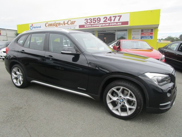 Used BMW X1 E84 LCI MY0713 sDrive20i Steptronic Kedron, 2013 BMW X1 E84 LCI MY0713 sDrive20i Steptronic Black 8 Speed Sports Automatic Wagon