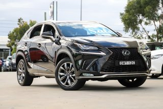 2018 Lexus NX AGZ10R NX300 2WD F Sport Black 6 Speed Sports Automatic Wagon.