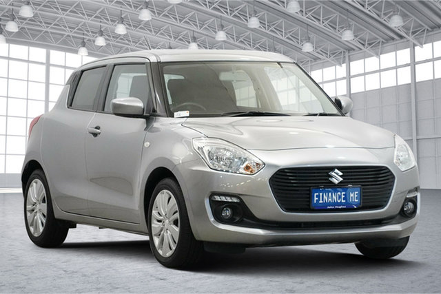 Used Suzuki Swift AZ GL Navigator Victoria Park, 2019 Suzuki Swift AZ GL Navigator Silver 1 Speed Constant Variable Hatchback