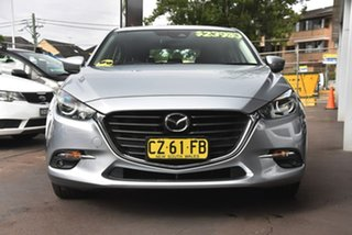 2018 Mazda 3 BN5438 SP25 SKYACTIV-Drive Silver 6 Speed Sports Automatic Hatchback