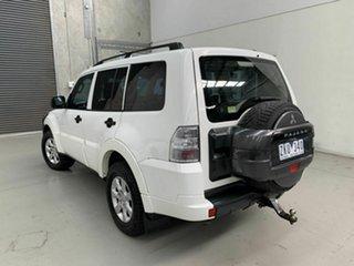 2012 Mitsubishi Pajero NW MY12 GLX White 5 Speed Sports Automatic Wagon