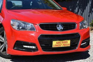 2014 Holden Commodore VF MY14 SV6 Sportwagon Red 6 Speed Sports Automatic Wagon