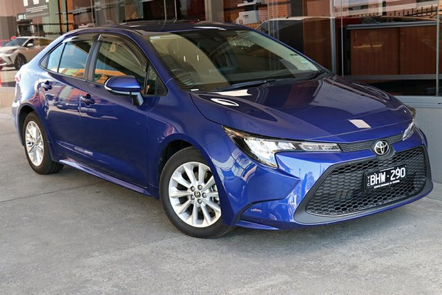 Pre-Owned Toyota Corolla Mzea12R Ascent Sport Preston, 2020 Toyota Corolla Mzea12R Ascent Sport Lunar Blue 10 Speed Constant Variable Sedan