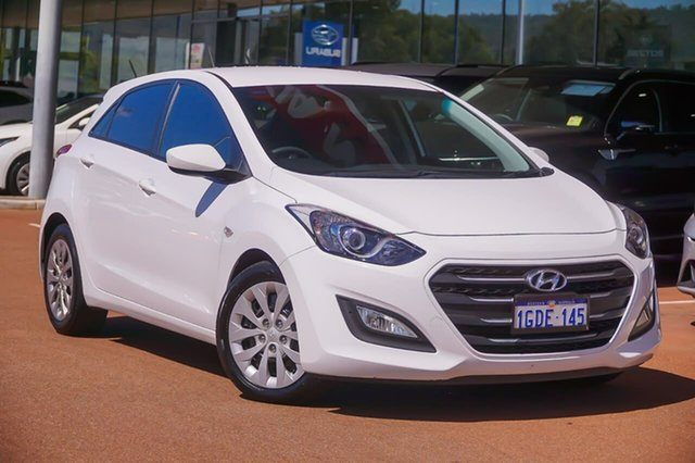 Used Hyundai i30 GD4 Series II MY17 Active Gosnells, 2016 Hyundai i30 GD4 Series II MY17 Active White 6 Speed Sports Automatic Hatchback