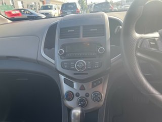2012 Holden Barina TM MY13 CD Red 6 Speed Automatic Hatchback