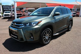 2017 Toyota Kluger GSU50R Grande 2WD Rainforest Green 8 Speed Automatic Wagon.