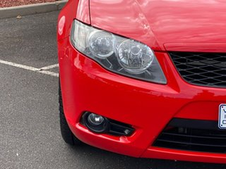 2008 Ford Falcon FG R6 Ute Super Cab Red 4 Speed Sports Automatic Utility