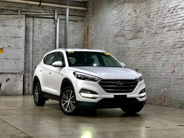Used Hyundai Tucson TL Active X 2WD Mile End South, 2015 Hyundai Tucson TL Active X 2WD White 6 Speed Sports Automatic Wagon