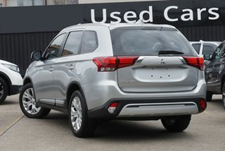 2020 Mitsubishi Outlander ZL MY20 ES 2WD Silver 6 Speed Constant Variable Wagon.