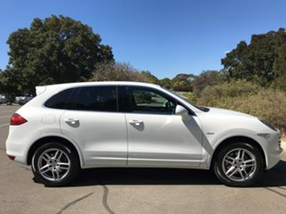 2012 Porsche Cayenne 92A MY12 Diesel Tiptronic White 8 Speed Sports Automatic Wagon