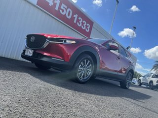 2020 Mazda CX-30 DM2W7A G20 SKYACTIV-Drive Pure Red 6 Speed Sports Automatic Wagon.