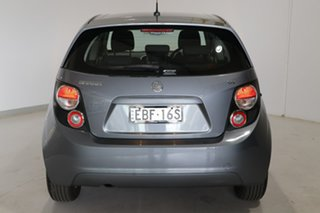 2013 Holden Barina TM MY14 CD Grey 5 Speed Manual Hatchback