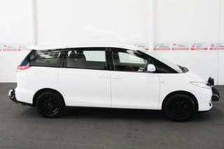 2013 Toyota Tarago ACR50R MY13 GLi Glacier White 7 Speed CVT Auto Sequential Wagon