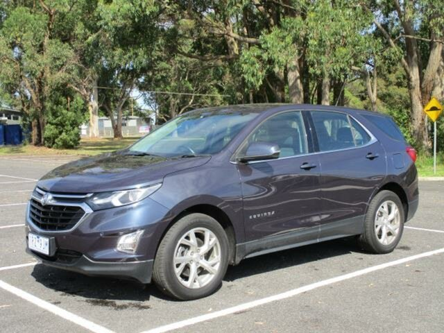 Used Holden Equinox LT Timboon, 2019 Holden Equinox EQ Turbo LT Blue Steel Automatic Wagon