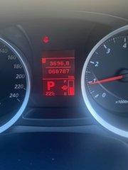2010 Mitsubishi Lancer CJ MY10 Activ Sportback White 6 Speed Constant Variable Hatchback