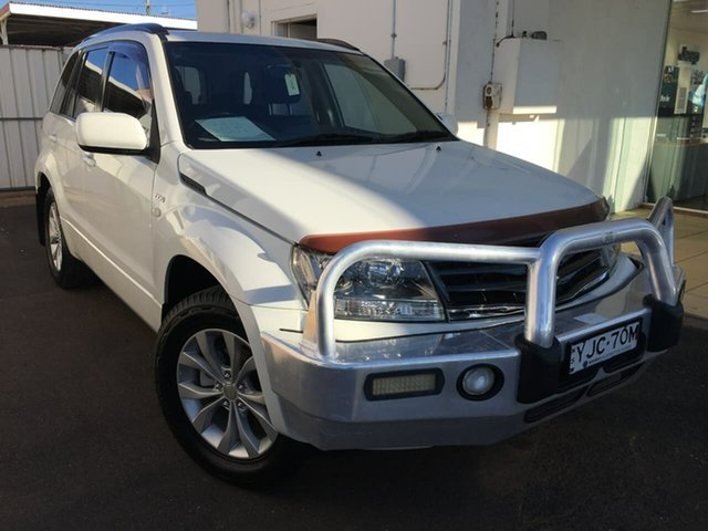 Used Suzuki Grand Vitara JB Dubbo, 2013 Suzuki Grand Vitara JB White Manual