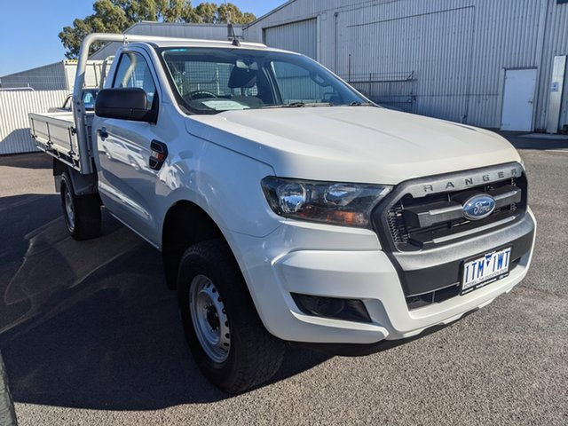 Used Ford Ranger PX MkII XL Epsom, 2016 Ford Ranger PX MkII XL White 6 Speed Manual Cab Chassis