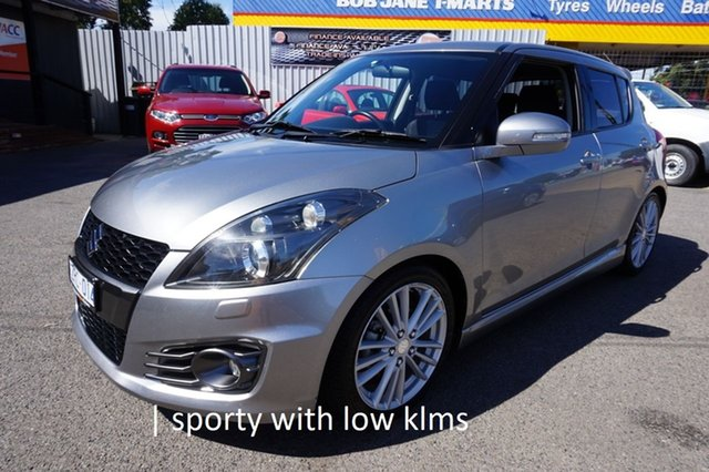 Used Suzuki Swift FZ Sport Dandenong, 2013 Suzuki Swift FZ Sport Premium Silver 6 Speed Manual Hatchback