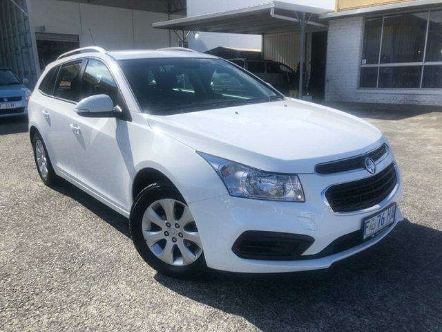 Used Holden Cruze JH Series II MY16 CD Sportwagon Derwent Park, 2016 Holden Cruze JH Series II MY16 CD Sportwagon Summit White 6 Speed Sports Automatic Wagon